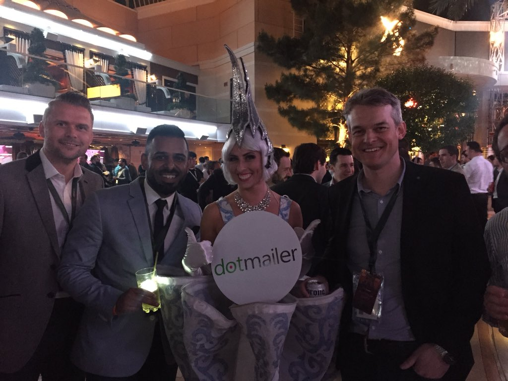 AnupKhera: Some of the @dotmailer dream team! #PlatinumParty #MagentoImagine #platinumpartner https://t.co/azsSeGhEGw