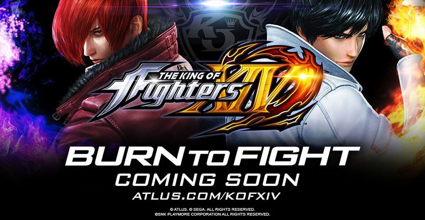 Atlus éditera The King of Fighters XIV aux USA https://t.co/PYqQLFy3Ms
