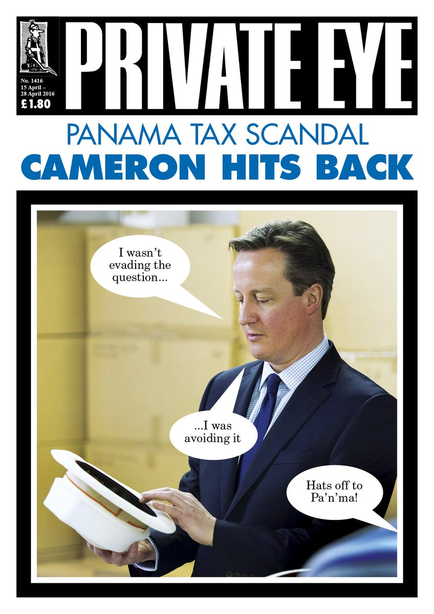 Hats off to Pa'n'ma! Eye 1416 in shops and arriving through subscribers letterboxes now. https://t.co/MujmWWq8ax