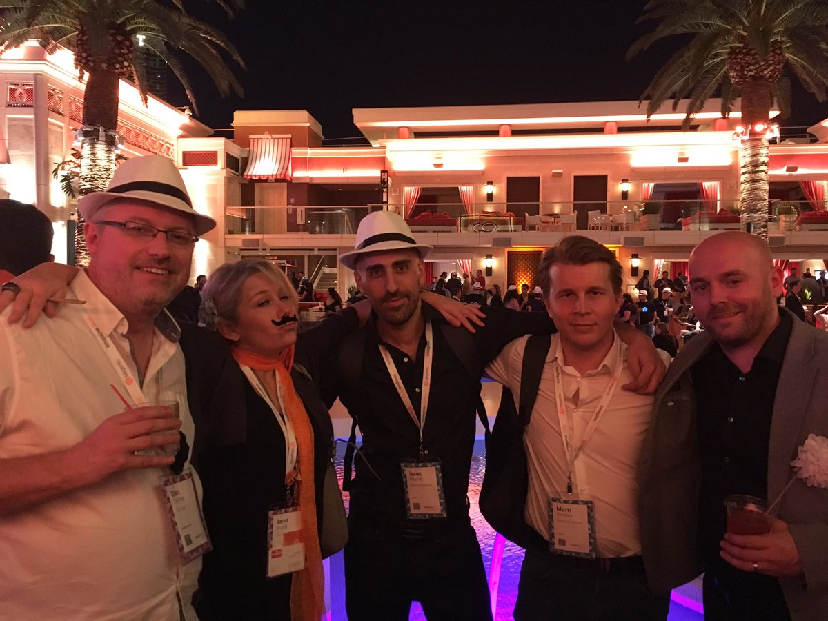 NostoSolutions: Catching up in Vegas with two of our favourite UK partners @ontapgroup & @Space48ers. #MagentoImagine #nostofamily https://t.co/EXqbD1by0p