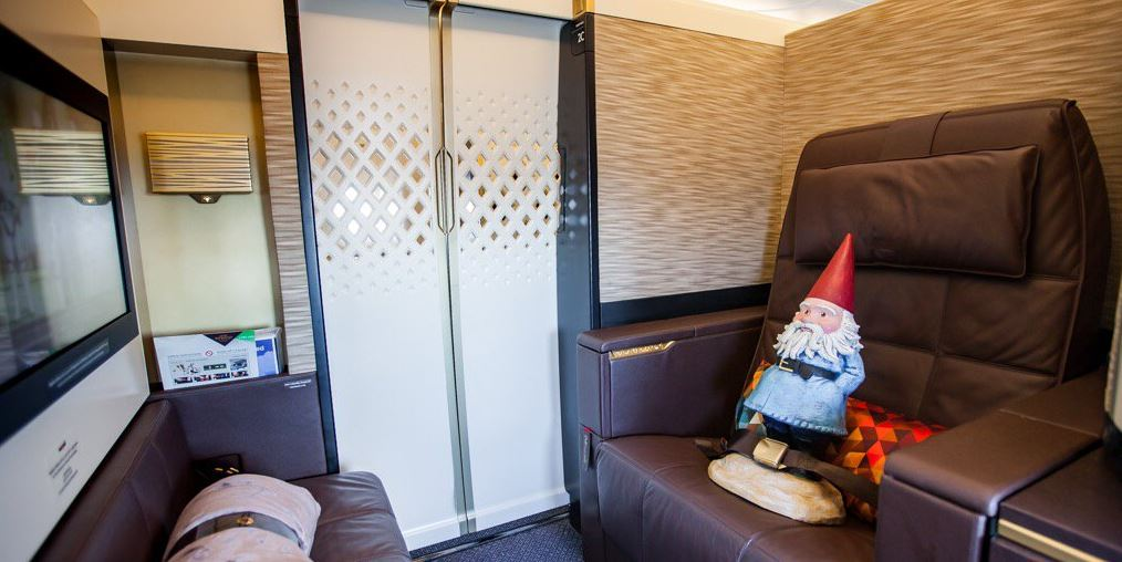 Travel in FirstClass and enjoy unparalleled luxury. Find out more: or ask the @RoamingGnome