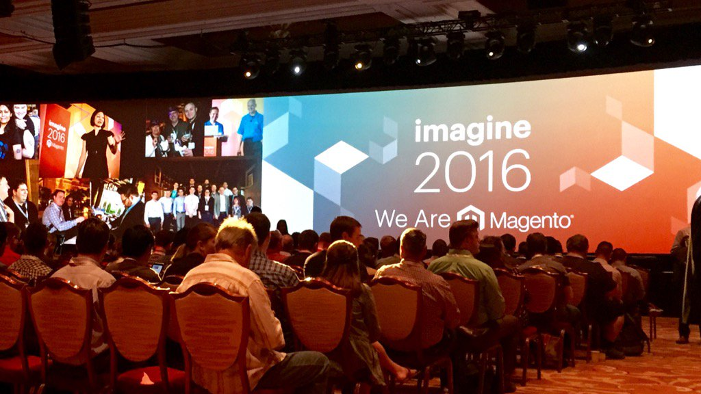 ericerway: Last day of Imagine 2016. It's been a great conference this year. Let's finish strong! #MagentoImagine https://t.co/9nKyc9i5Ng