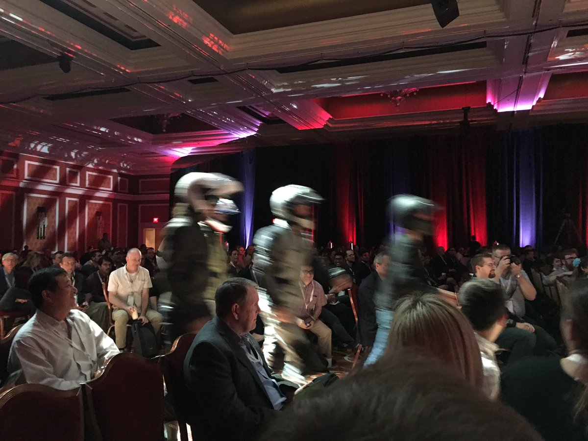 ebizmarts: No, it's not Daft Punk, they are @RoadToImagine gang! #MagentoImagine https://t.co/9EbbMp60xw