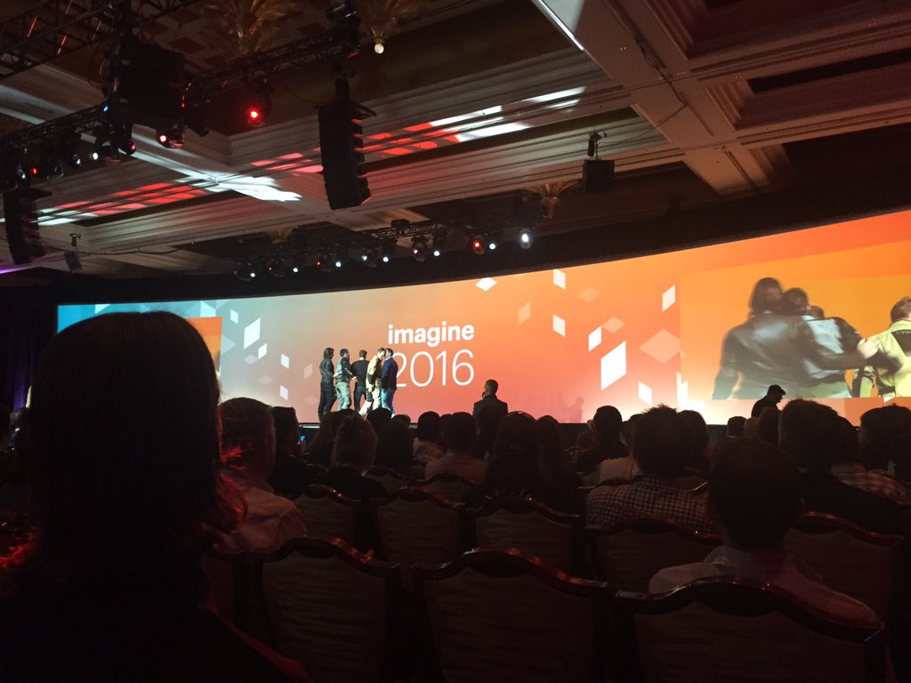 connor_mcmorrow: What an entrance!! #RoadtoImagine #MagentoImagine https://t.co/YdywzfobuM