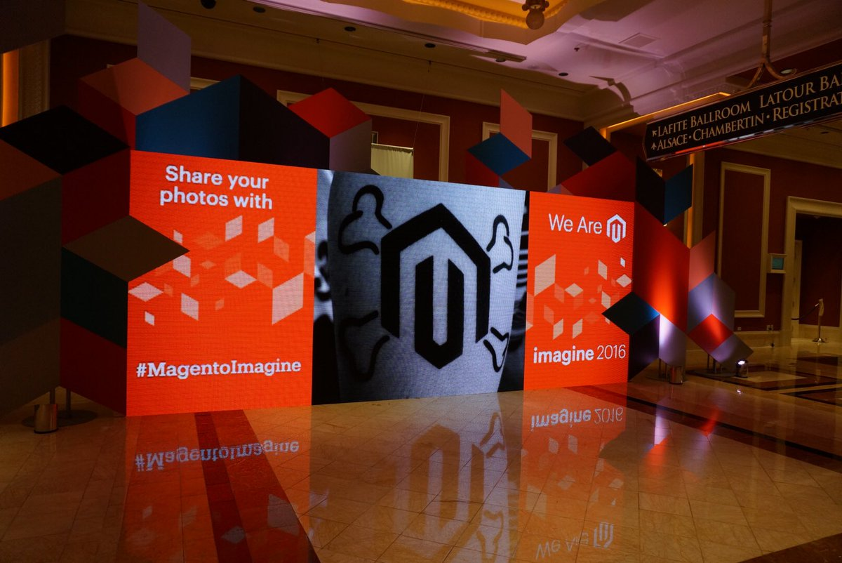 lanaek: My calf is #MagentoImagine famous! #Imagine2016 https://t.co/F2NTkJMCLC