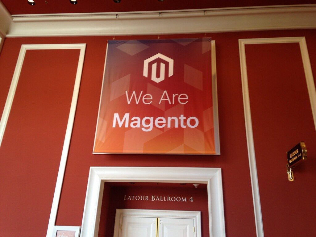 SheroDesigns: Good morning #Magento! Today is the last day of #MagentoImagine! #LasVegas https://t.co/WmY8dahRcU