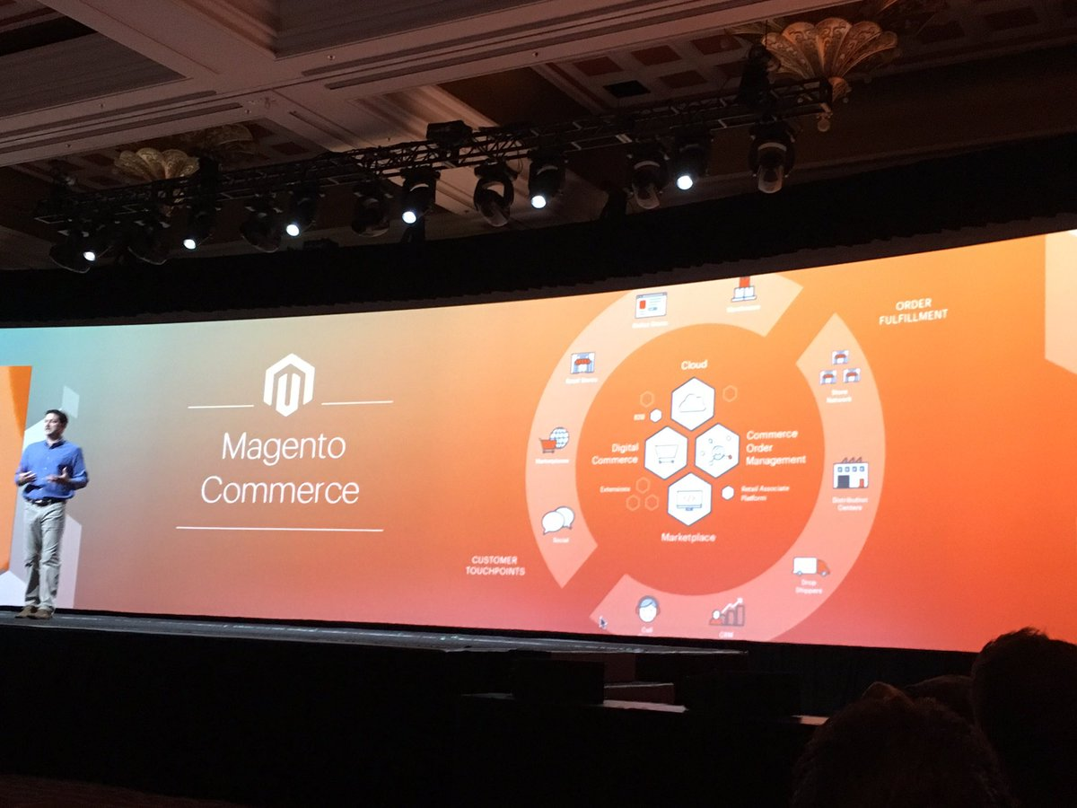 phoenix_medien: #Magento Commerce innovations #MagentoImagine https://t.co/NHvaz2xZsQ