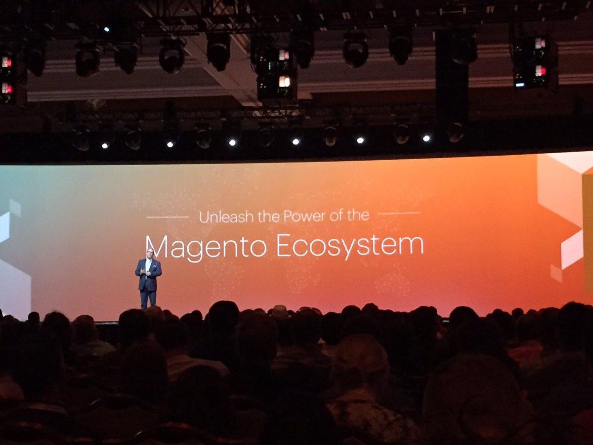 WebShopApps: Unleash the developer ecosystem #MagentoImagine https://t.co/x9sjQVzN2v