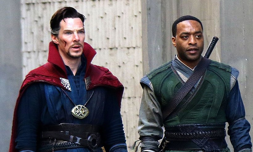 First look! See Benedict Cumberbatch in DoctorStrange: