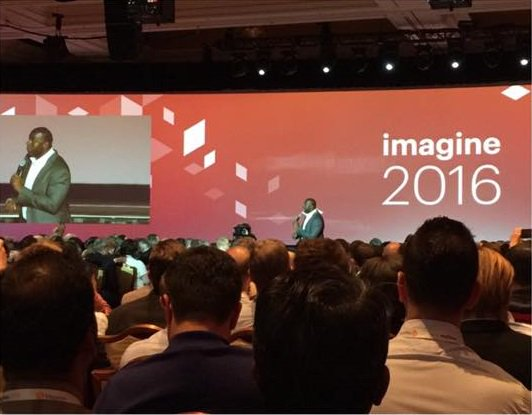 opmpros: We're at #MagentoImagine and @MagicJohnson's keynote was awesome! https://t.co/qoI5xadlDo