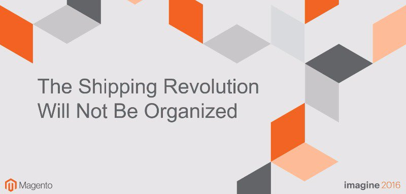 temando: CEO @carlhartmann:The Shipping Revolution Will Not Be Organized ⚡ 11AM PDT ⚡ #magentoimagine https://t.co/r0wJqYIUl4 https://t.co/yAnSRCEWji