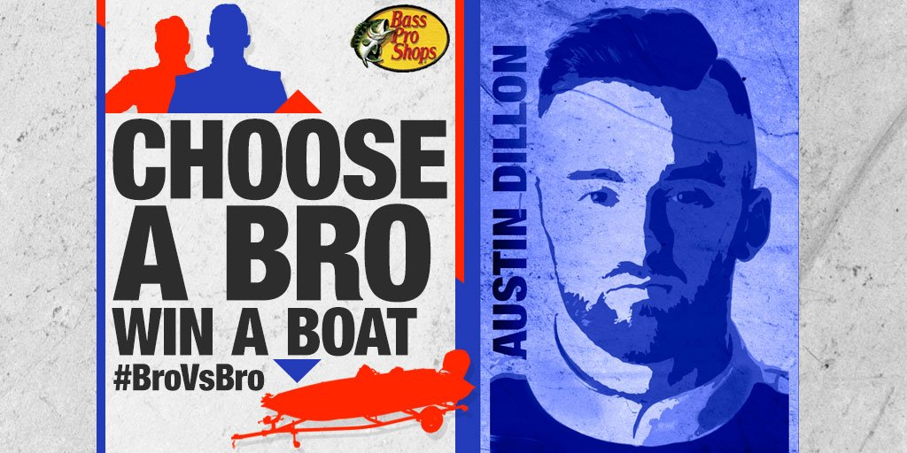 Retweet to vote for @austindillon3 in our #BroVsBro sweeps to WIN a @RangerBoats! More info: https://t.co/EXmvlAPzI1 https://t.co/TueoTVEL0B