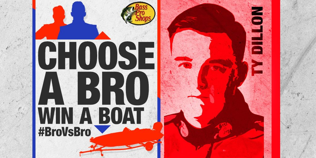 Retweet to vote for @tydillon in our #BroVsBro sweeps to WIN a @trackerboats! More info: https://t.co/EXmvlAPzI1 https://t.co/3tlUJNYn8O