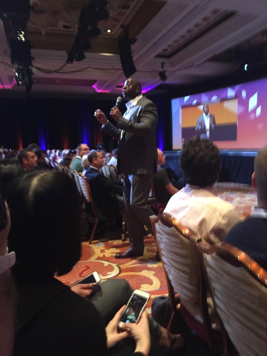joshdw1: Really enjoyed seeing Magic Johnson speak last night! #MagentoImagine https://t.co/L5gU5Snep7