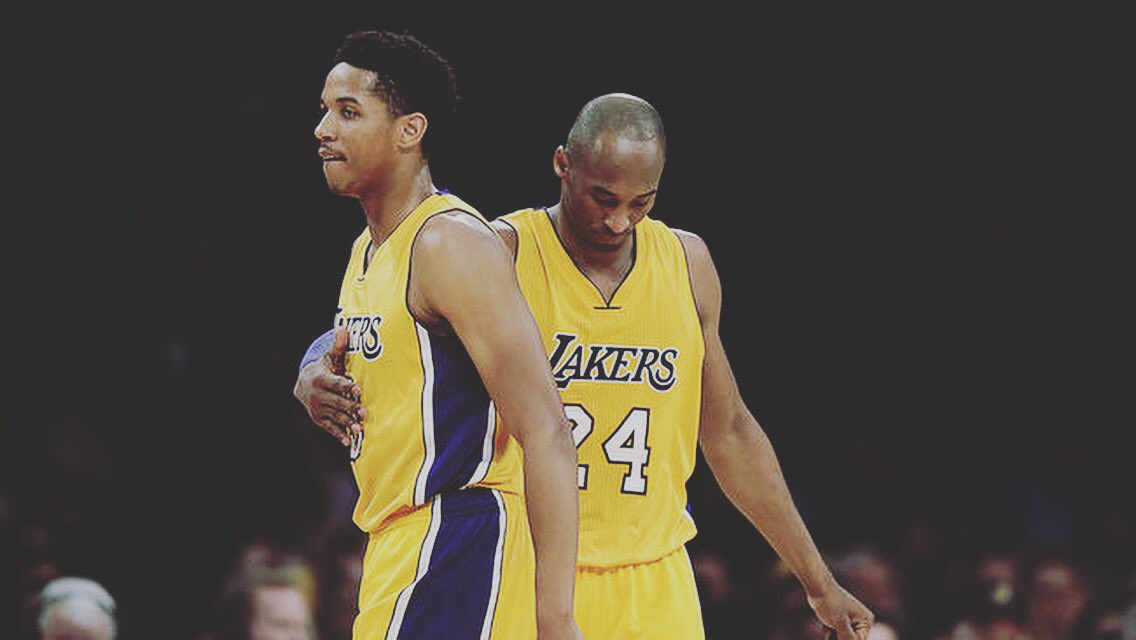 It was a honor to get to know you , my childhood idol. Thank you for changing the game of basketball! #MambaDay