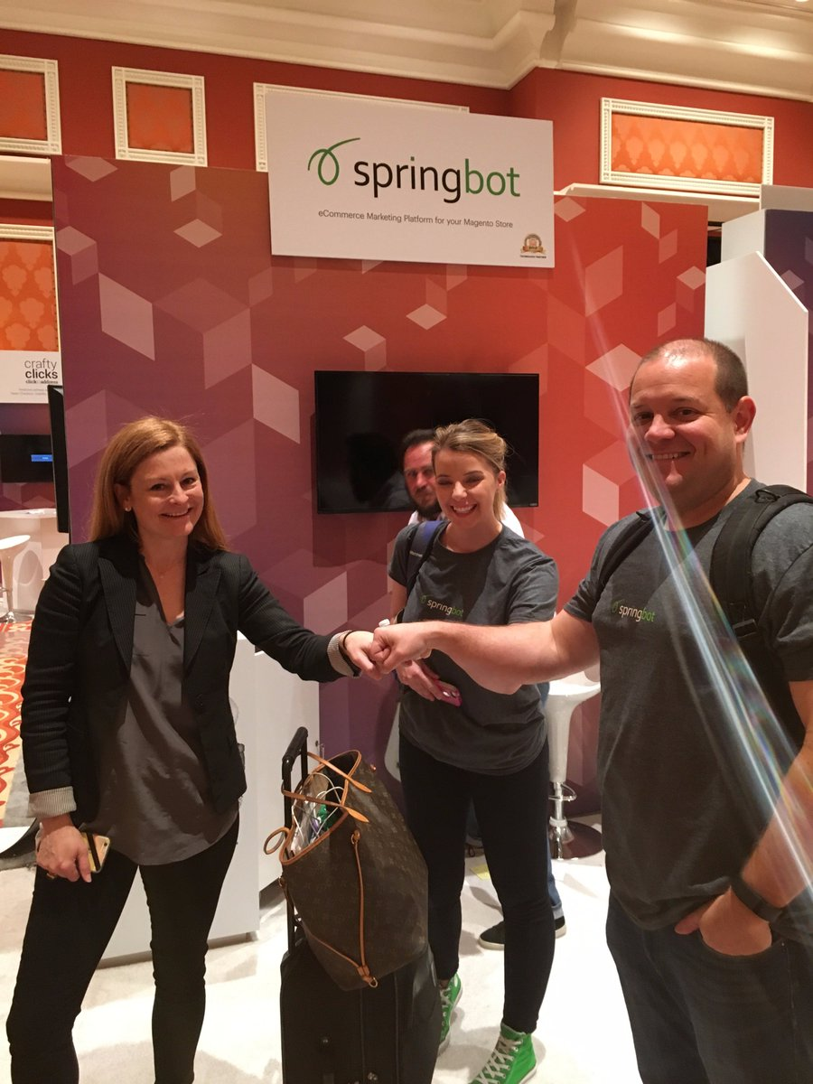 springbot: That's a wrap! The marketing team is packed up and reluctantly heading back to Atlanta #MagentoImagine https://t.co/R05Lj56xwd