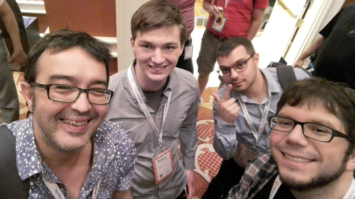 rojo_angel: We are at #MagentoImagine Developer Barcamp #Imagine2016 https://t.co/5nOpVAqgMN