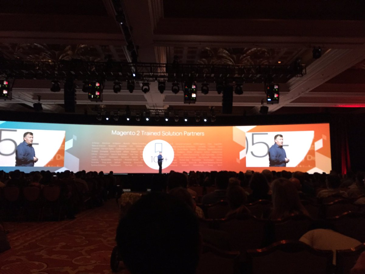 magento_rich: .@ProductPaul: Only your imagination limits what you can do with #Magento2. #trailblazers #MagentoImagine https://t.co/AtWkw2yAs0