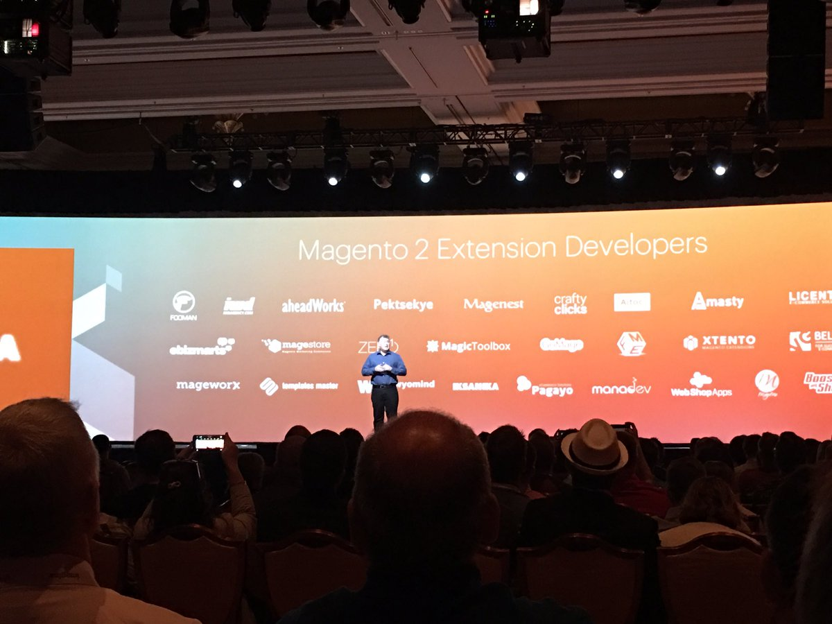 ebizmarts: Proud to support @magento 2 since the early Beta days #MagentoImagine https://t.co/lOp56sqB7U