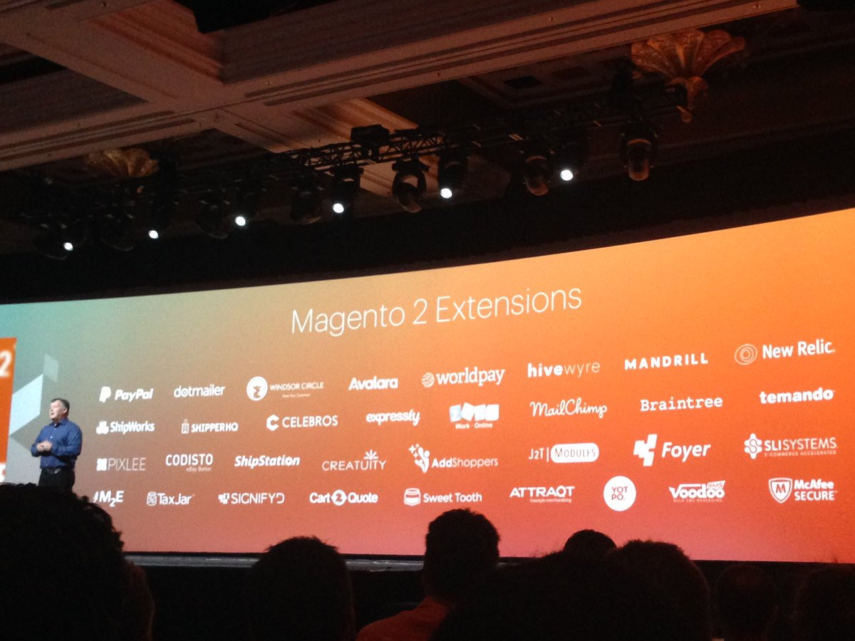 SheroDesigns: The #magento2 extensions are growing. #MagentoImagine @ProductPaul https://t.co/efMW2pOQjy
