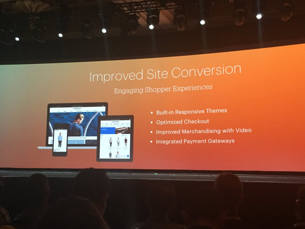 ignacioriesco: Improved Site Conversion. #performance. More orders per hour using Magento2 #MagentoImagine https://t.co/XGw5Ej6kxY