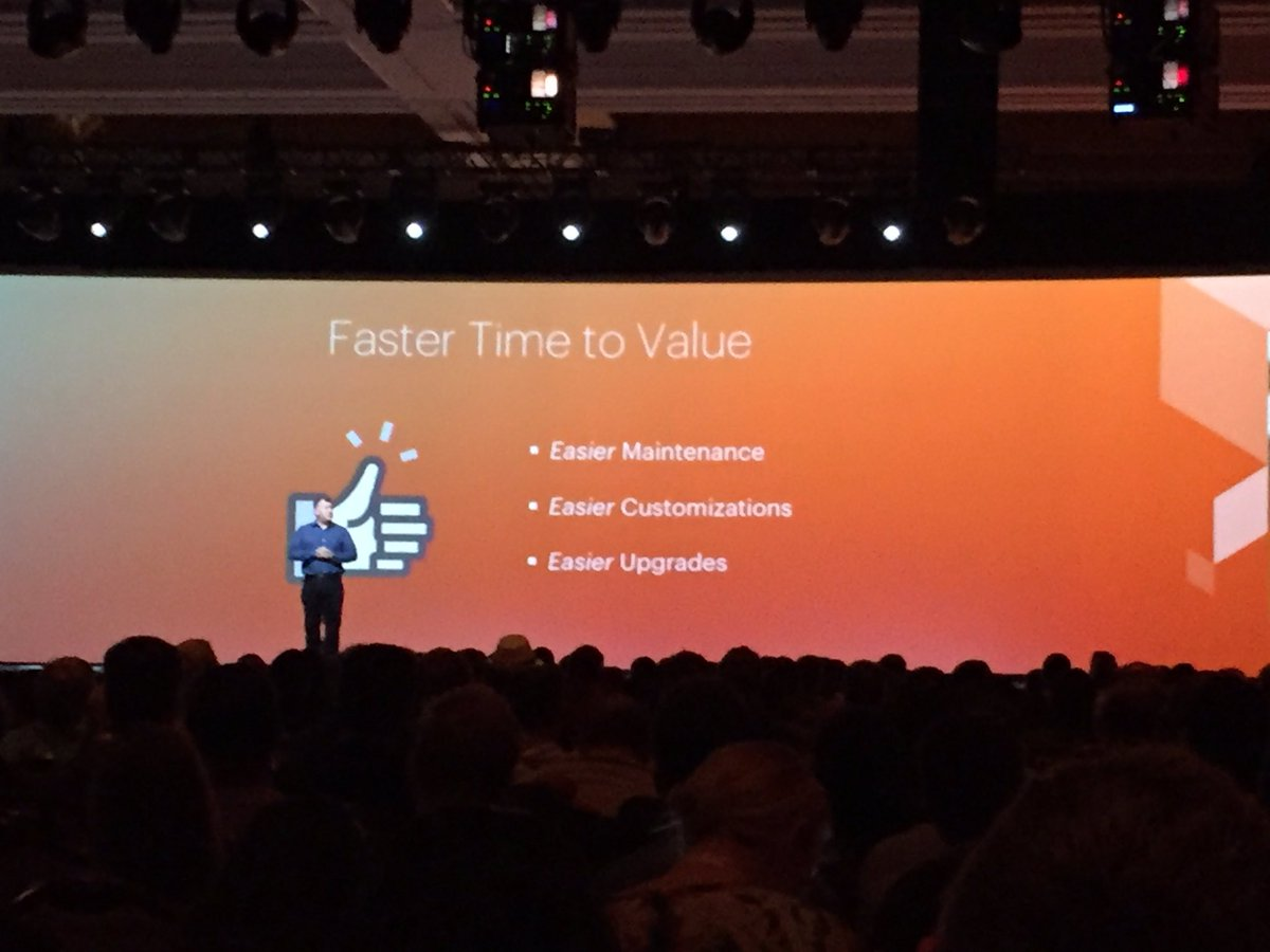 WebShopApps: #magento2 easier upgrades #MagentoImagine https://t.co/e6KIu4a7zP