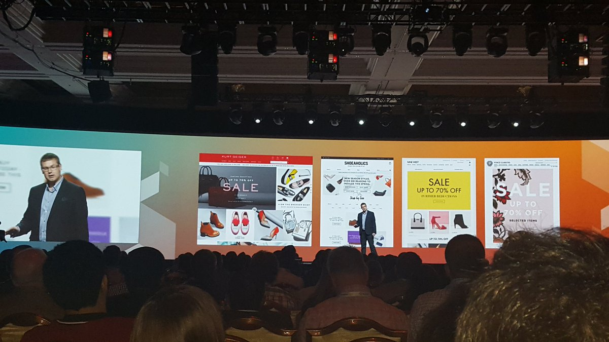 betz826: @KurtGeiger chose Magento 2 to drive 20 commerce websites in EU. #MagentoImagine https://t.co/6yBzSPyWhe