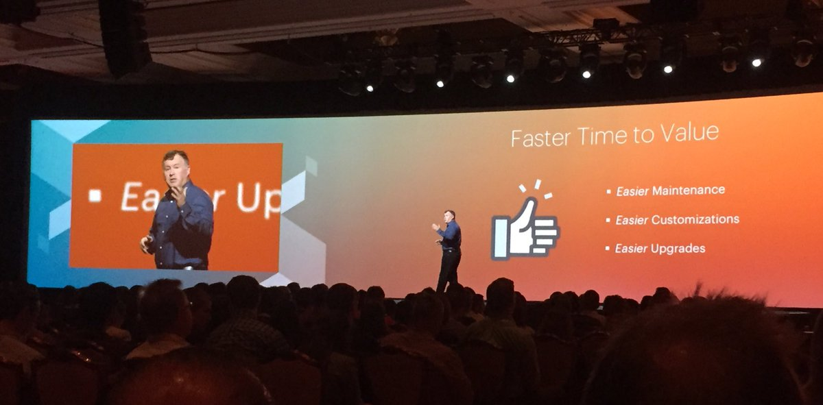 annhud: Magento2: faster time to value with easier maintenance, customizations, & upgrades says @ProductPaul #MagentoImagine https://t.co/rUv4k3384p