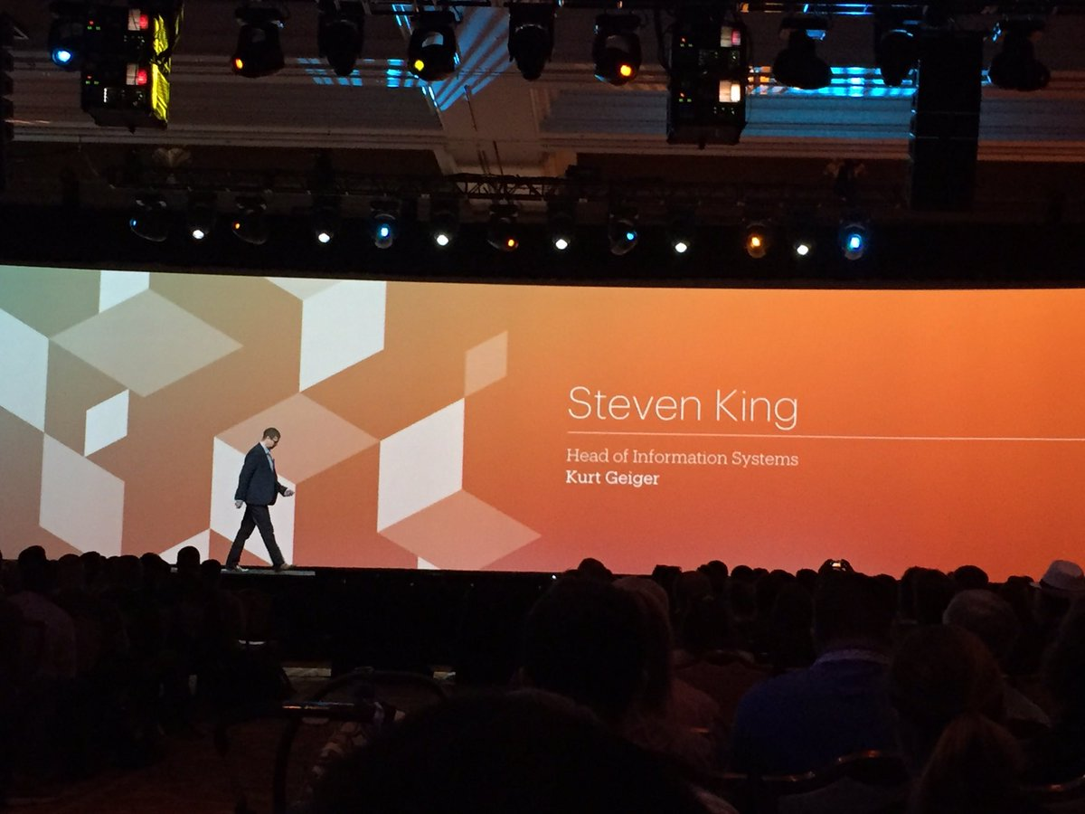 magento_rich: Steven King from @KurtGeiger tells us why they went with #Magento2. #MagentoImagine https://t.co/7WPvDHjGmv