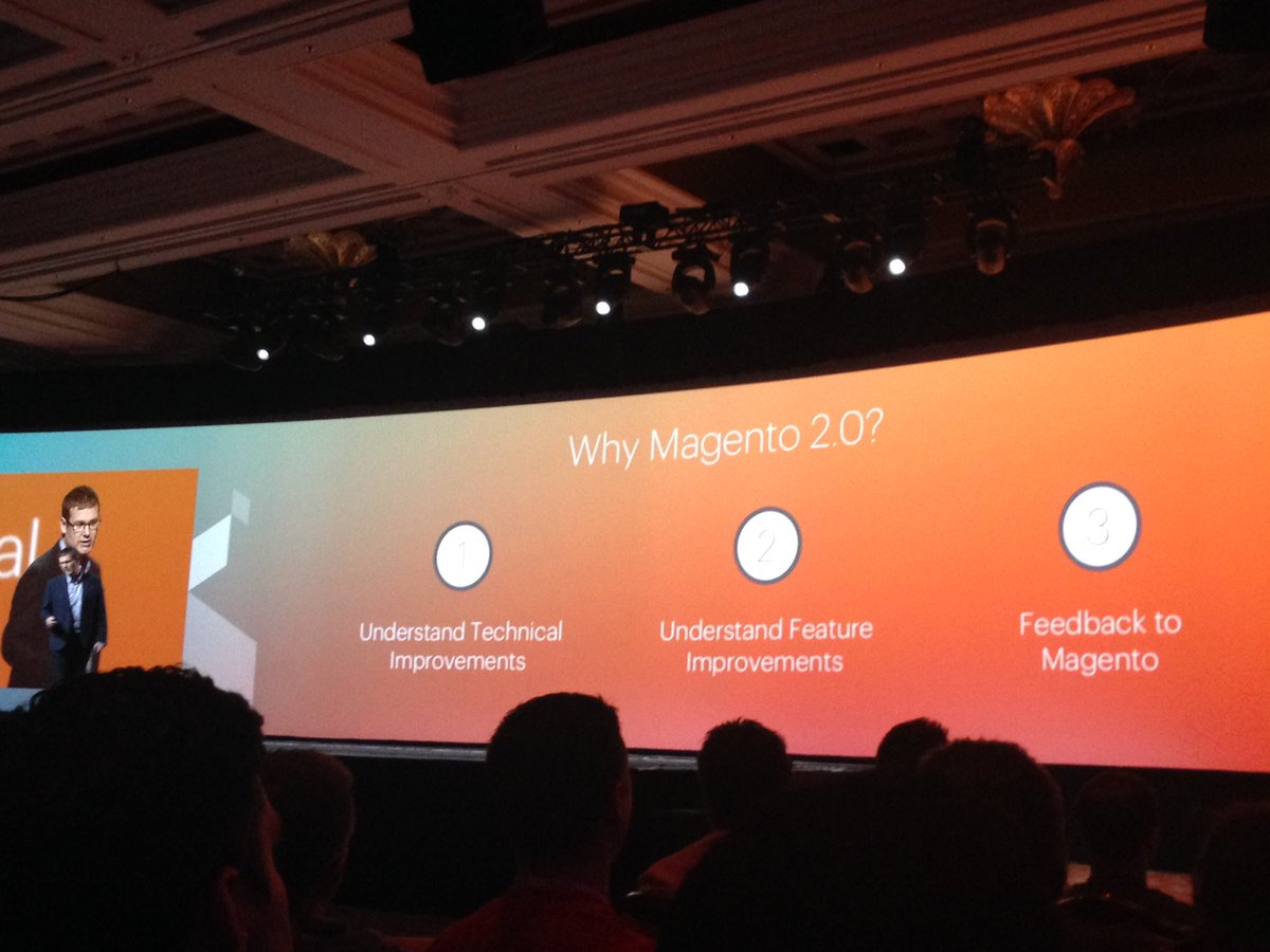 SheroDesigns: Why #magento2? @kurtgeiger #innovate, #community focus, technical improvements & keeping it #vanilla #MagentoImagine https://t.co/FVl44cVvDA