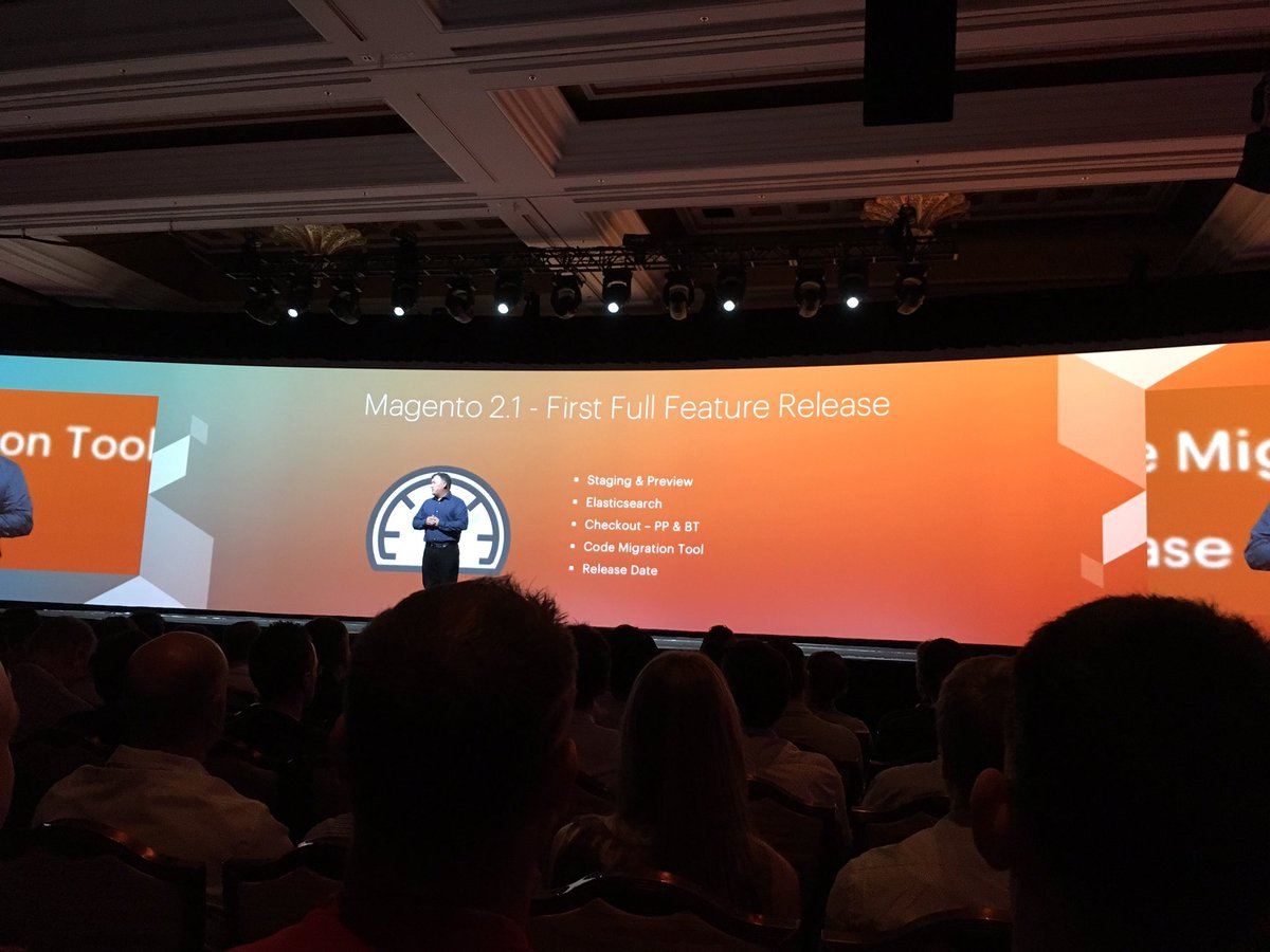 kab8609: 'Magento 2.1 will be available in June.' -@ProductPaul #MagentoImagine https://t.co/eoAtHWVJ48