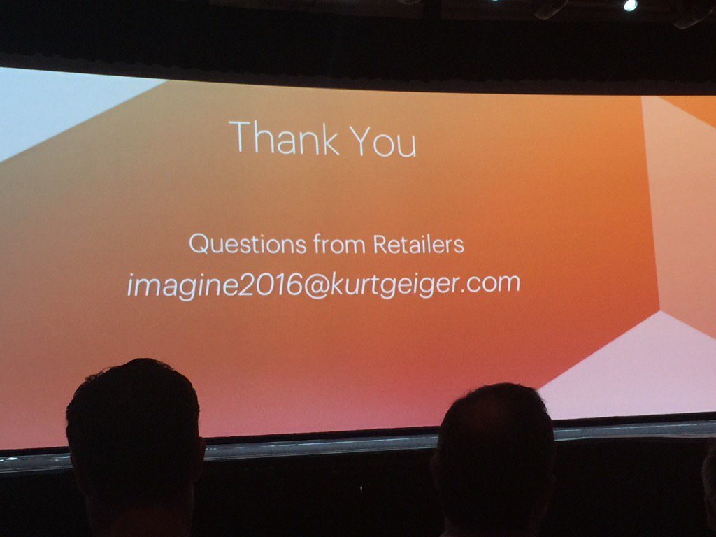 Blue_Bovine: #MagentoImagine @KurtGeiger answering merchants questions about their experience on m2! https://t.co/CWHQw3juSA
