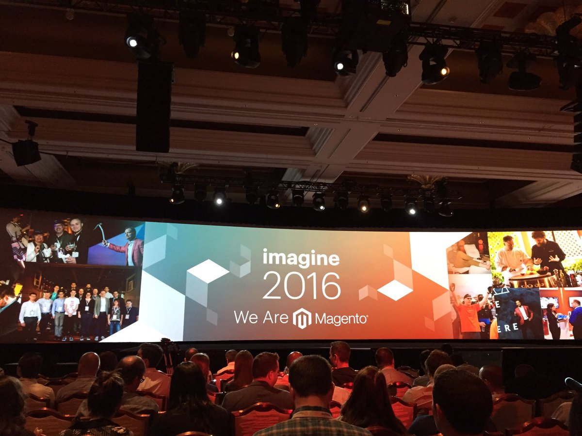 plumrocket: Beginning of the 3rd day at #magentoimagine in pictures. #Magento 2 is awesome. https://t.co/gefw0o4Gny