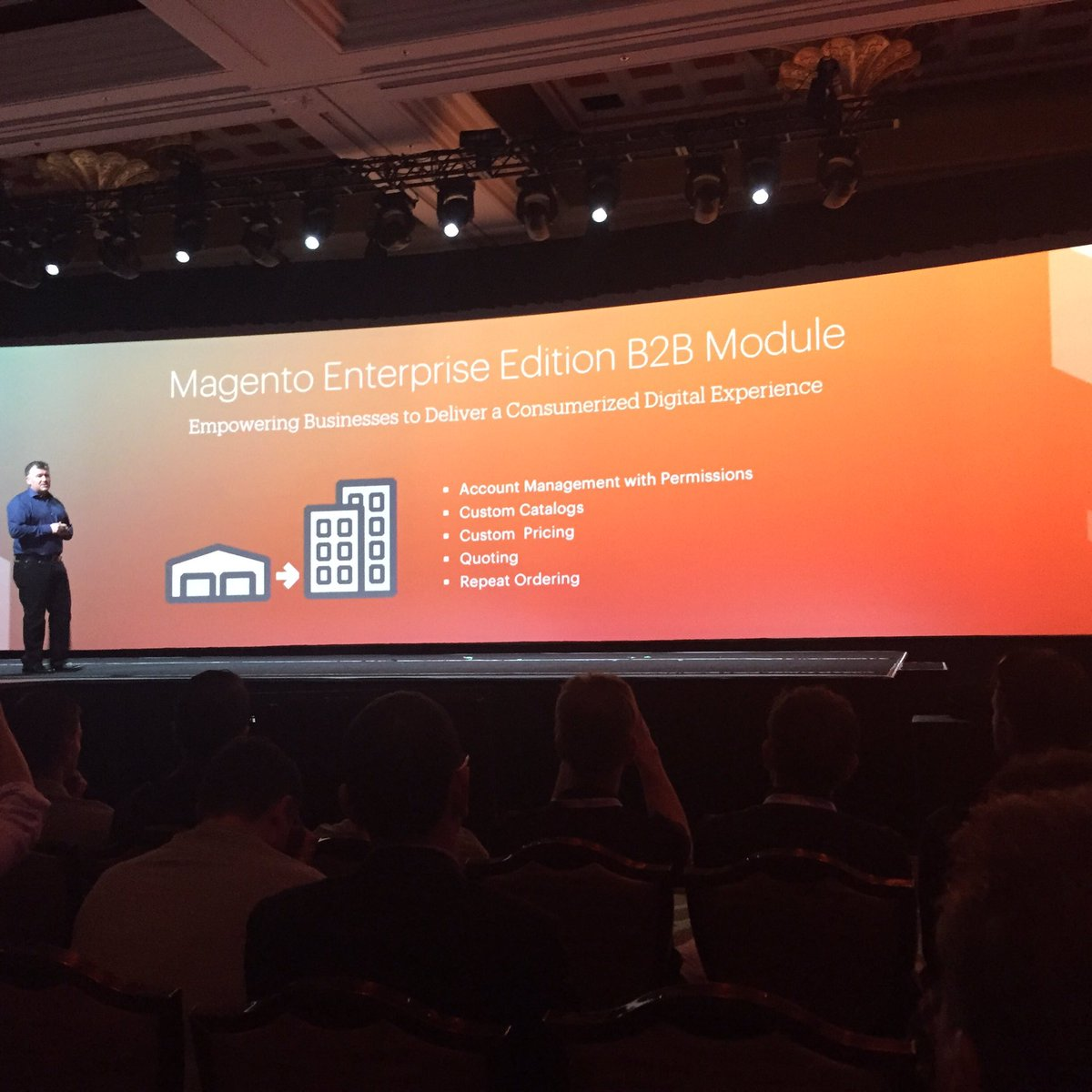 jaalcant: New Magento 2 B2B module available in Q3 #MagentoImagine https://t.co/6dTonvpW4n
