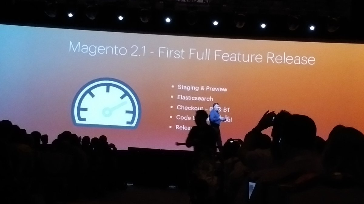 KeyoraInc: Full release coming in June M2.1 #MagentoImagine https://t.co/HDPkhcx8HT
