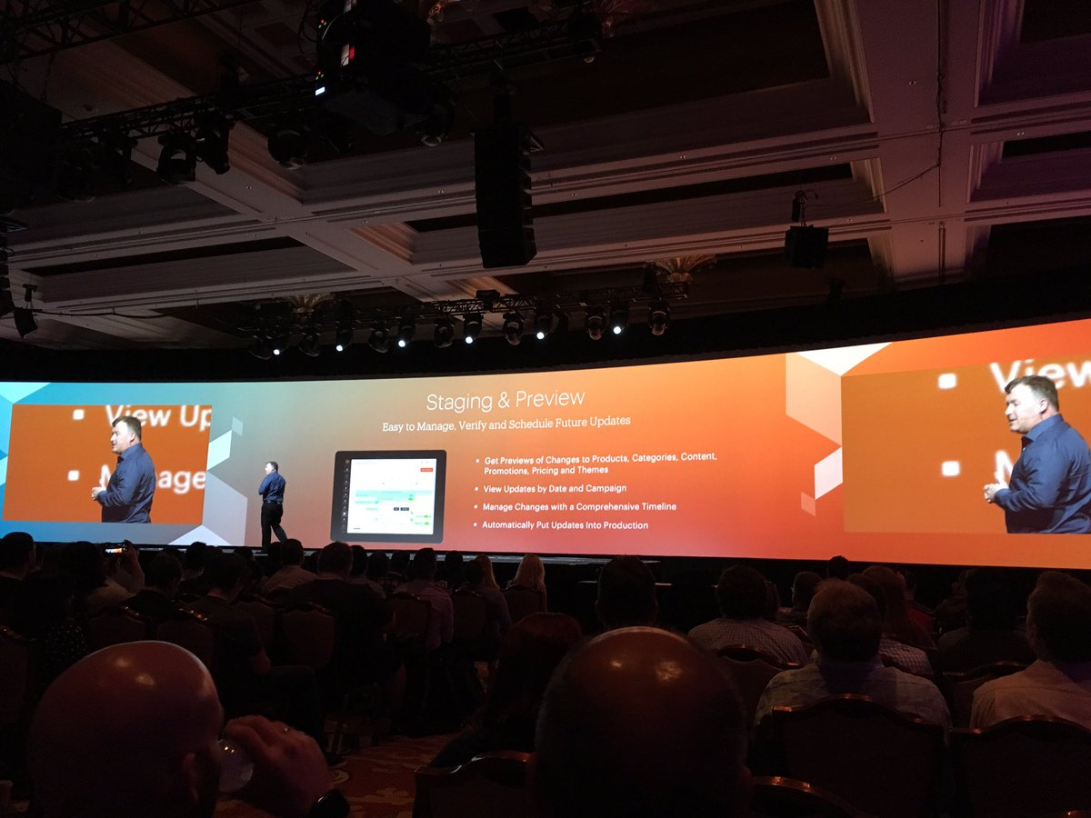 creaminternet: Magento 2.1 Enterprise editie bevat staging en preview functionaliteit #MagentoImagine https://t.co/EwFnq1FPPR