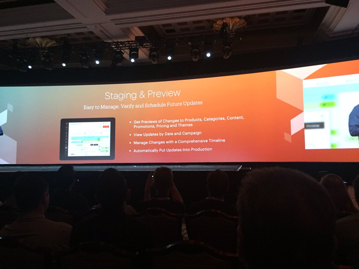 jaalcant: Magento 2.1 features #MagentoImagine https://t.co/YdBel8oAV8