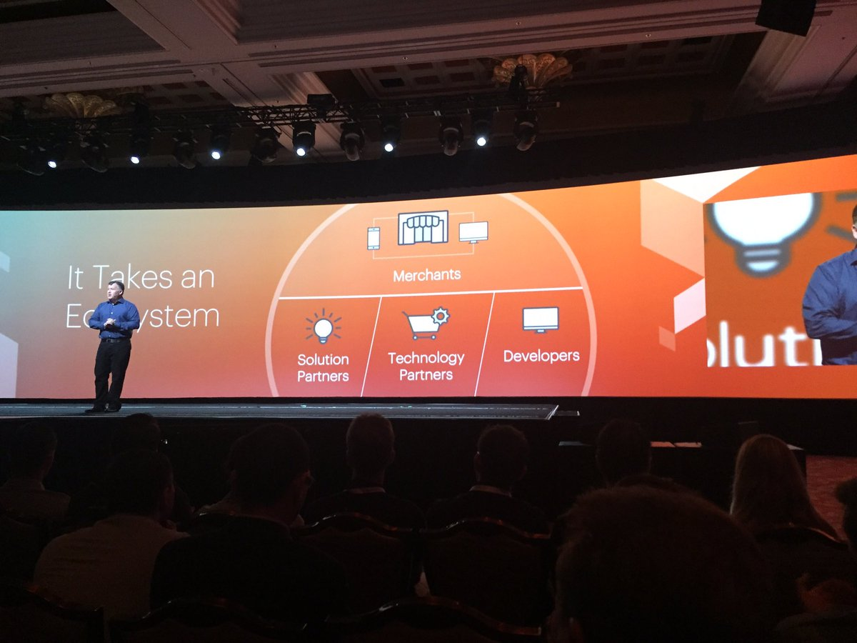 jaalcant: Together We Are Magento ... :)) #MagentoImagine https://t.co/RWskUdbQiz