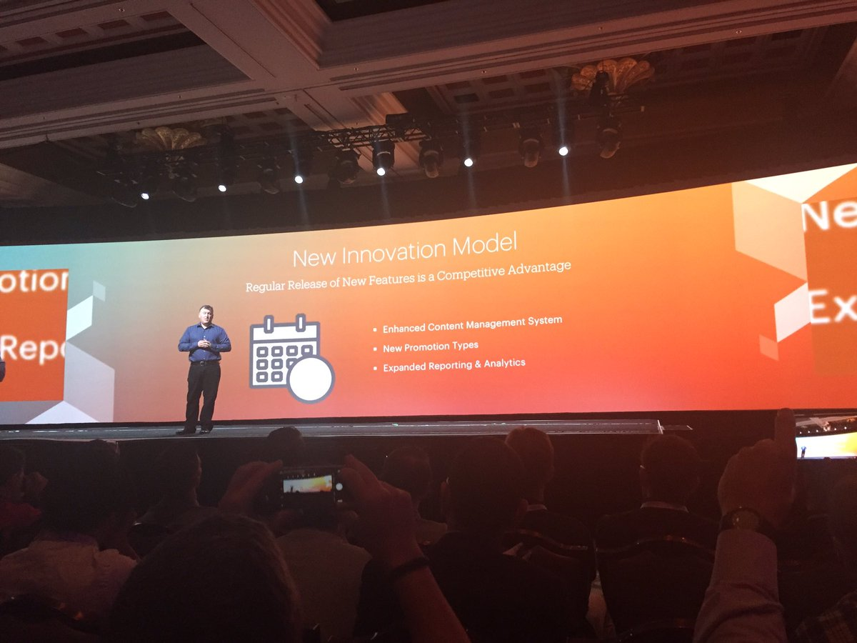 ignacioriesco: Magento 2 Enterprise Edition B2B module & New innovation model. #MagentoImagine https://t.co/vVbEMIKhFy