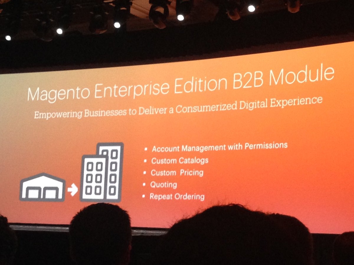 SheroDesigns: So many new key features!#magento is setting new standards! #innovation #magento2 #MagentoImagine @ProductPaul https://t.co/DiOXazZWil
