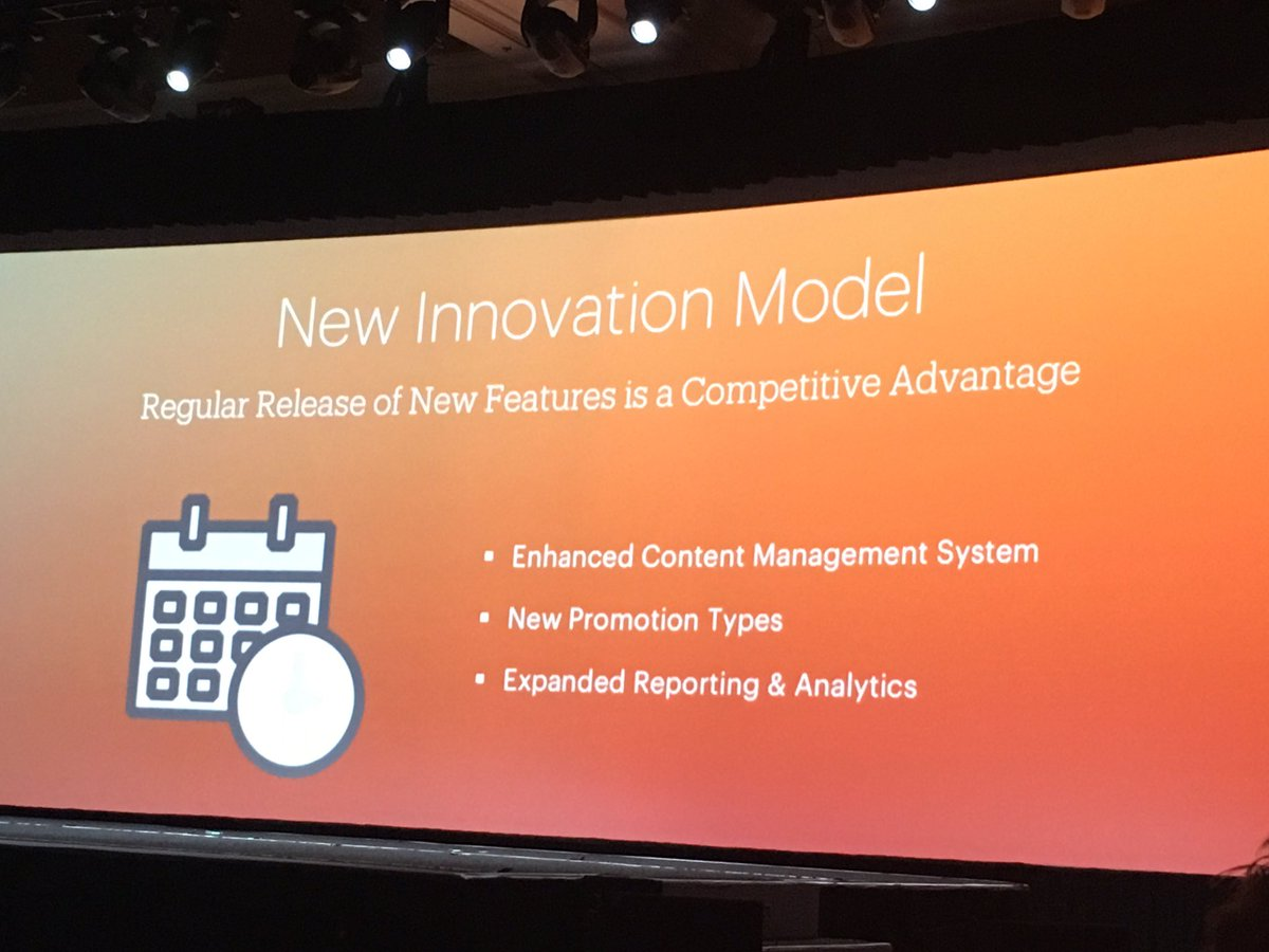 phoenix_medien: Enhanced CMS, new promotion types, expanded reporting & analytics #MagentoImagine https://t.co/YeNs8XRwI9