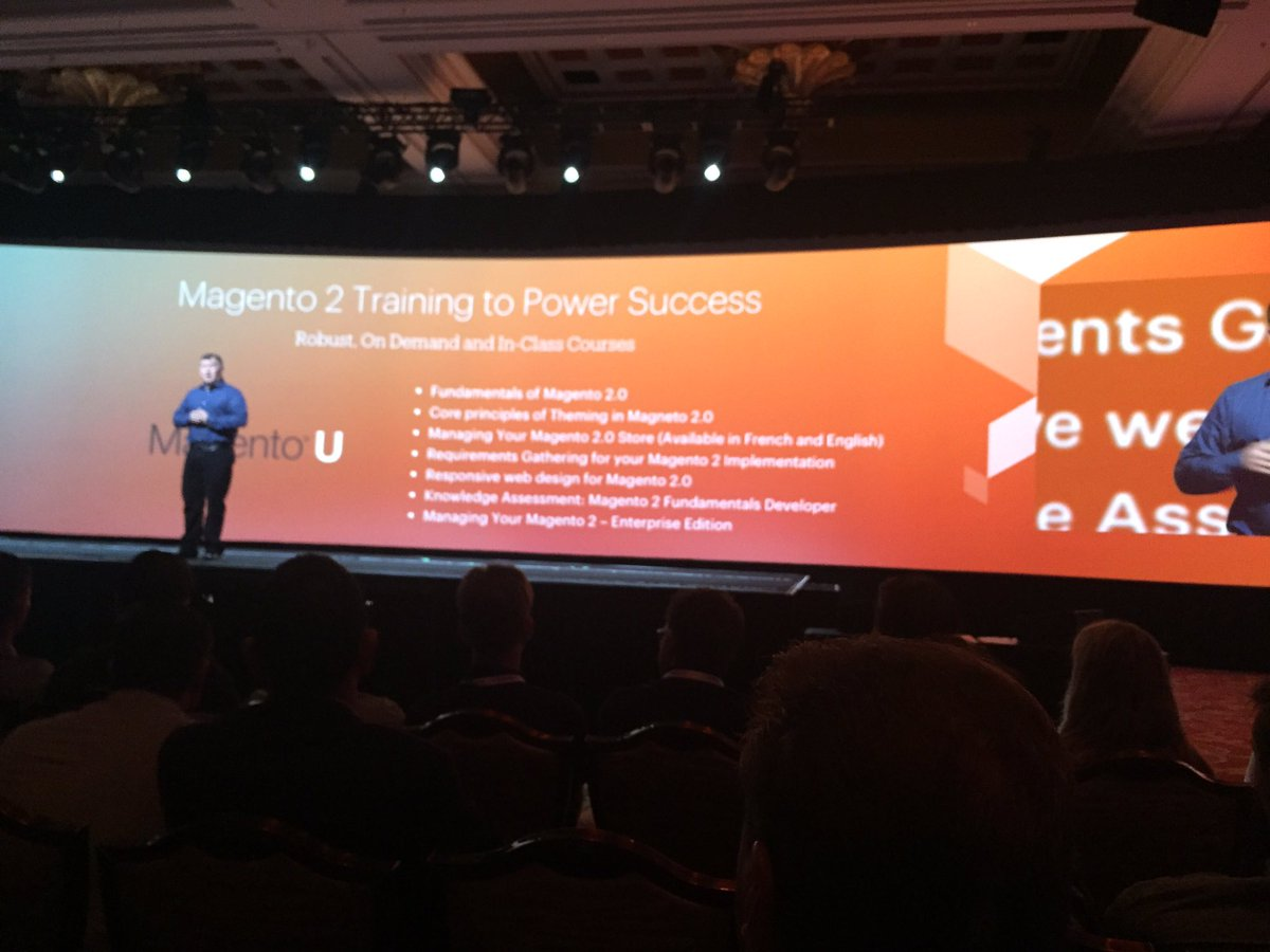 jaalcant: Magento training #MagentoImagine https://t.co/nIt0C6zgxw