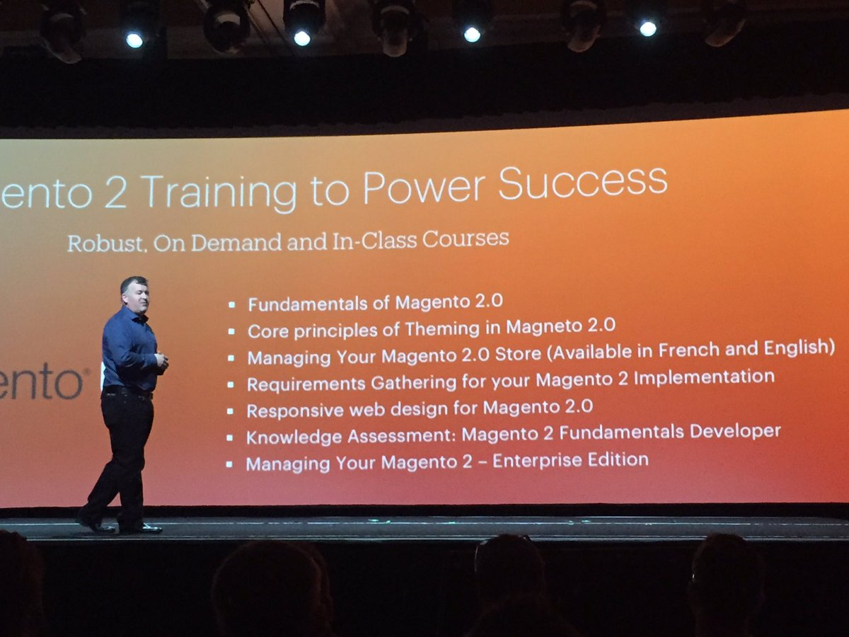 bennolippert: Second time you can spot MAGNETO on a slide during the keynote #MagentoImagine https://t.co/5N0y6qXKpJ