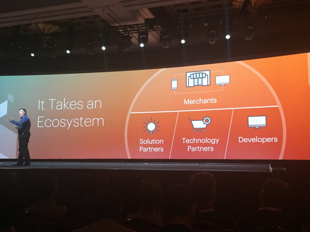 ignacioriesco: It takes an ecosystem. It is an awesome and active #realmagento community. We are Magento. #MagentoImagine https://t.co/eMXEArlxbw