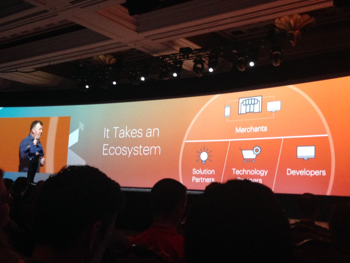 SheroDesigns: We Are #Magento = it takes an ecosystem for #success. Trust, support and participation! #together #MagentoImagine https://t.co/e7ImzVuHa2