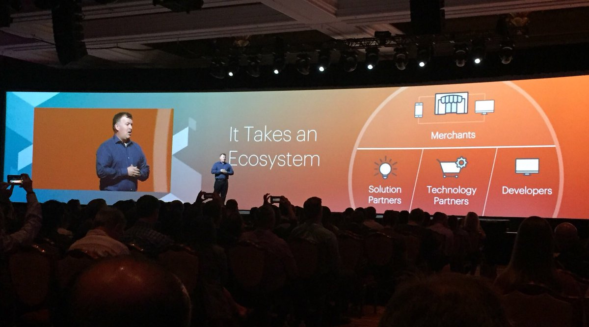 annhud: It takes an ecosystem to realize the value of a platform. @ProductPaul #MagentoImagine https://t.co/lRdWcZTiDE