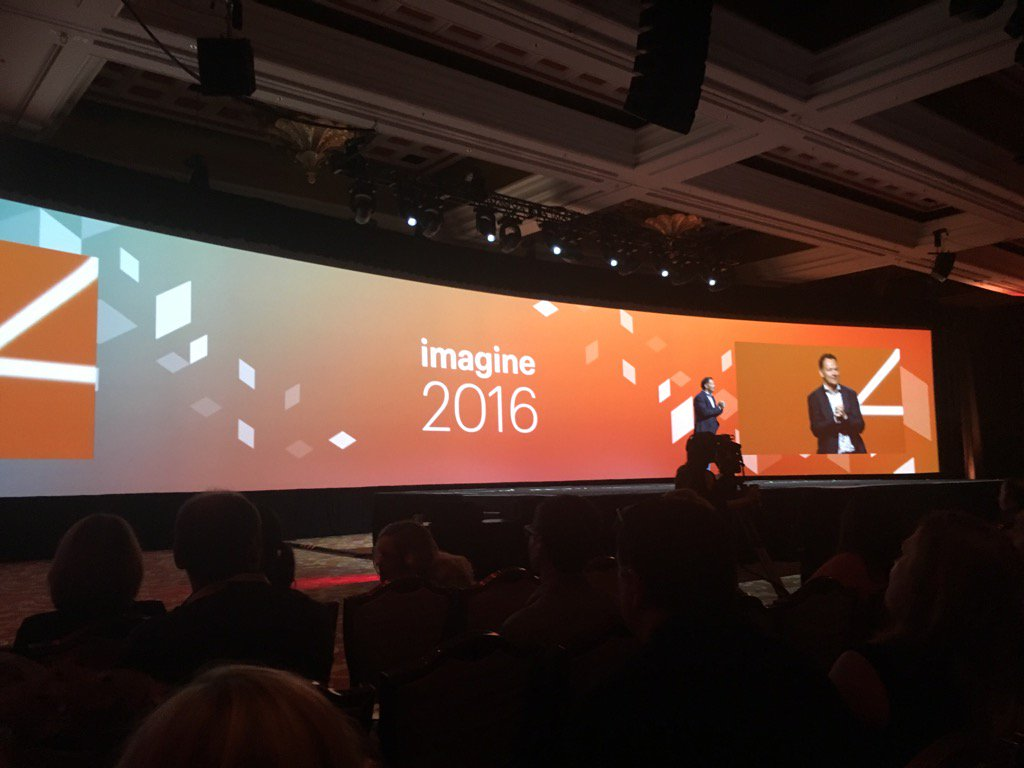 brentwpeterson: Favorite conference ever #MagentoImagine https://t.co/Iphwiuz1HZ