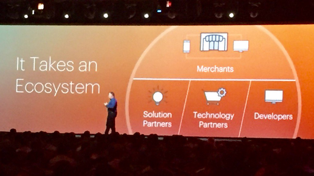 ericerway: Great review of Magento 2 with @ProductPaul this morning. Power of Magento IS the ecosystem. #MagentoImagine https://t.co/izG4mfSWyC
