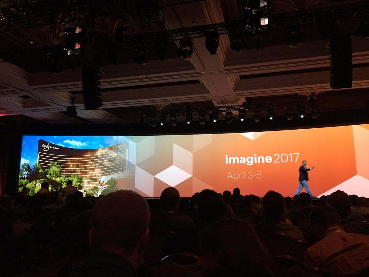 alexanderdamm: #magentoimagine 2017 - May 3rd - 5th in @WynnLasVegas https://t.co/FBdPdtGTZM
