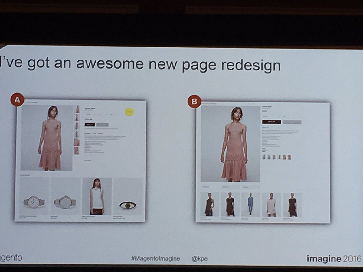 xavigs85: @blueacorn #MagentoImagine @kpe   Which is the worst redesign? https://t.co/IrWfNV55Wp